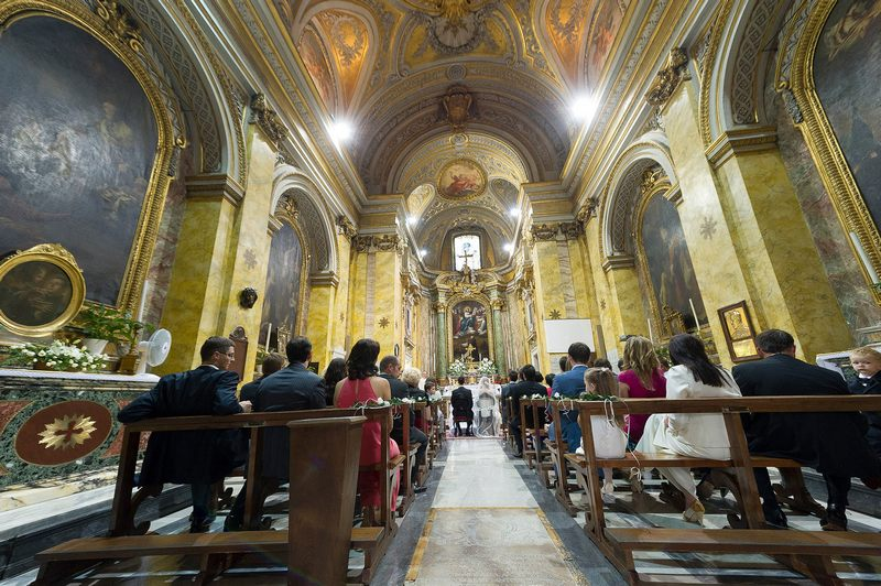 Rome Church Wedding
