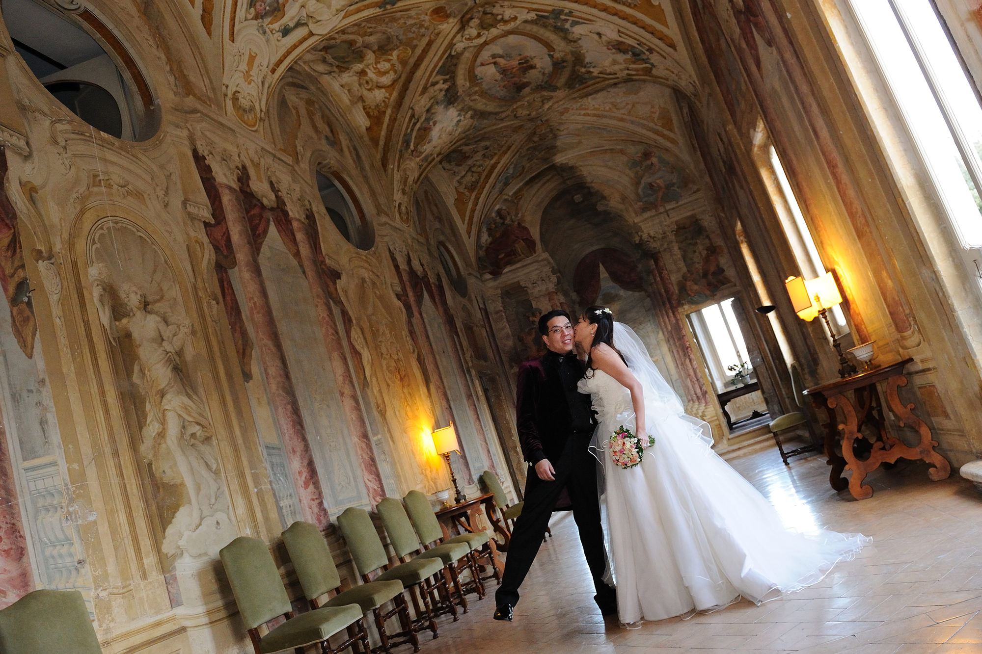 Weddings Villa Grazioli Rome