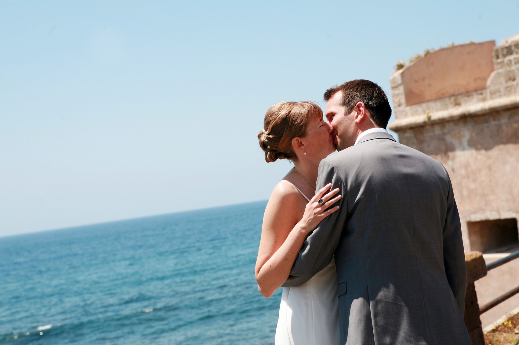 just married in sardinia