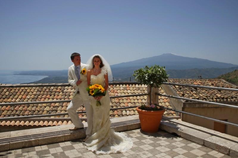 Castelmola wedding